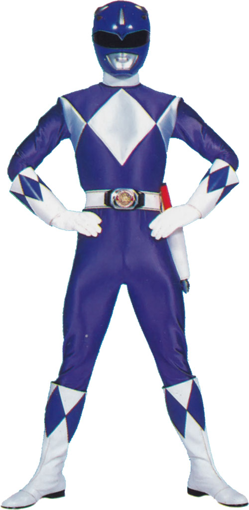 Blue Ranger (Billy) of the Mighty Morphin' Power Rangers (Early)