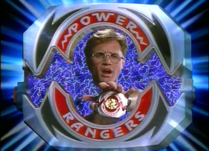 Blue Ranger (Billy) of the Mighty Morphin' Power Rangers (Early) power morpher