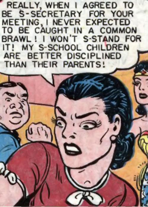 Blue Snowman (Wonder Woman enemy) (DC Comics) face closeup