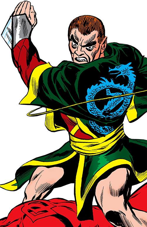 Blue Talon (Daredevil enemy) (Marvel Comics)
