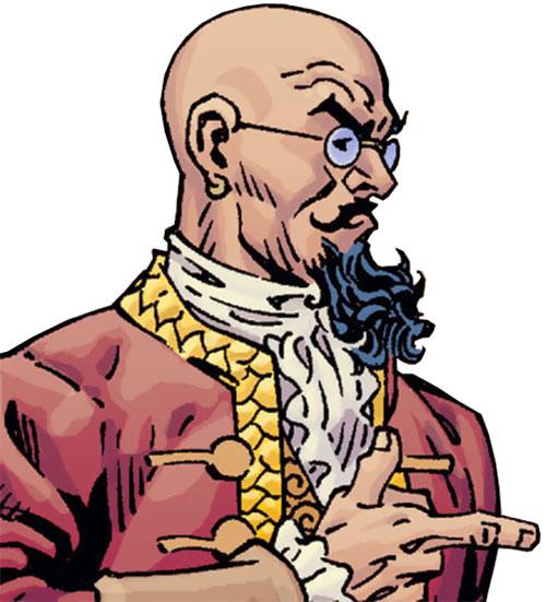 Bluebeard of the Fables (DC Comics) side portrait