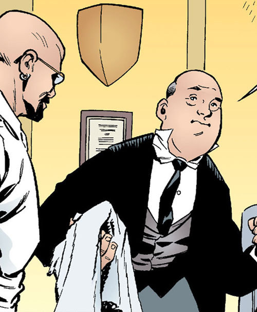 Bluebeard of the Fables (DC Comics) and Hobbes
