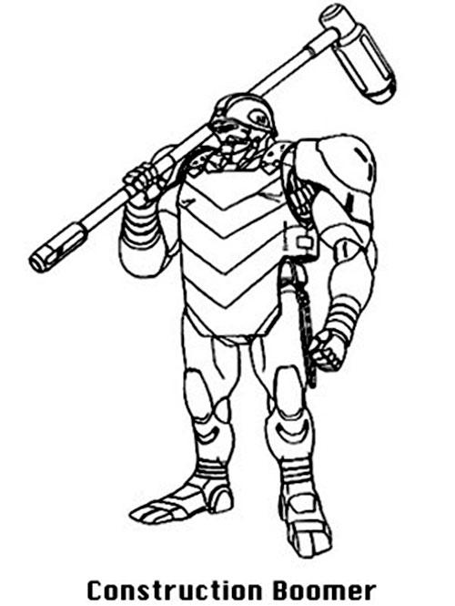 Construction Boomer robot (Bubblegum Crisis)