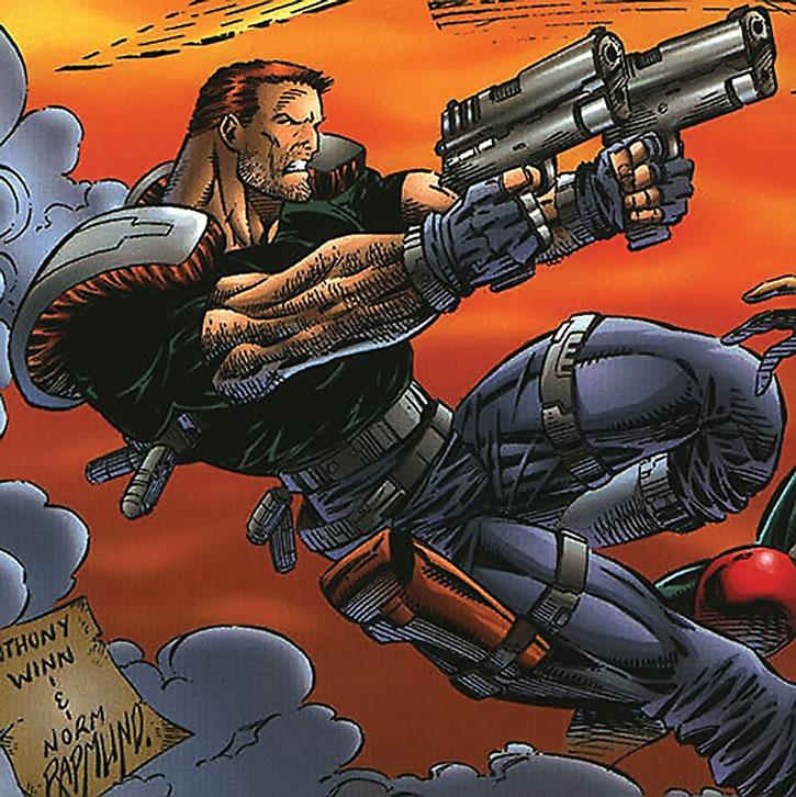 Boone dual-wields pistols