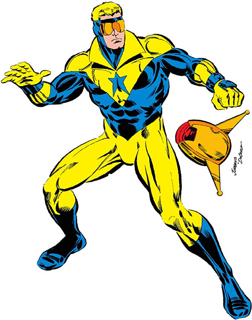 Booster Gold (DC Comics) from the Who's Who