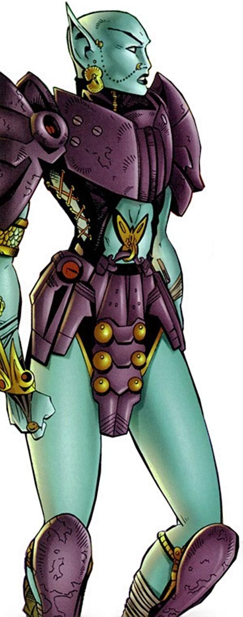Borgia (Cybernary enemy) (Image Comics)