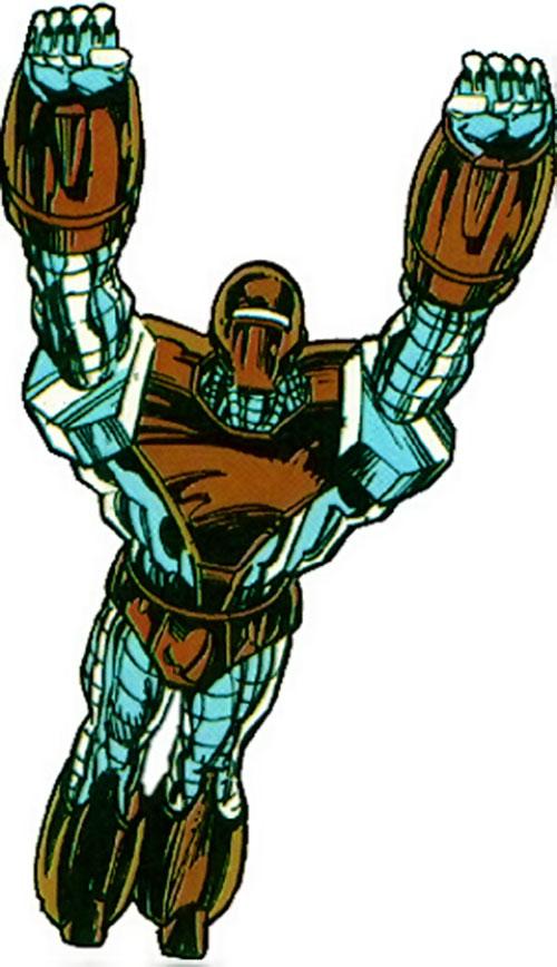 Box (Alpha Flight) (Marvel Comics) in flight