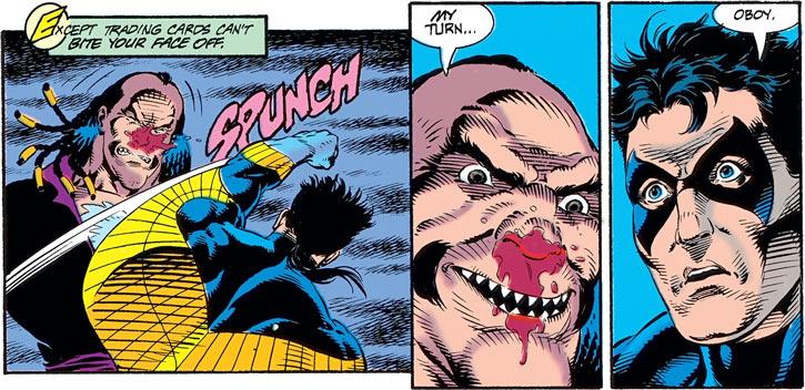 Ramon Bracuda impresses Nightwing