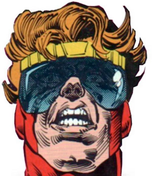 Brainwave (Hank King, Jr.) face closeup
