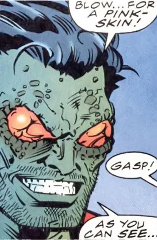 Brood aliens (X-Men enemies) (Marvel Comics) Kree under Brood control