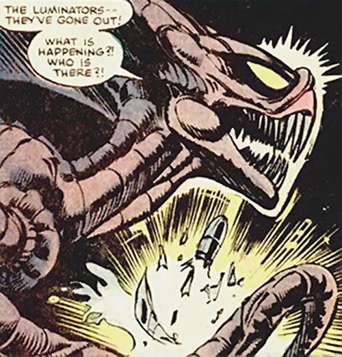 Brood aliens (X-Men enemies) (Marvel Comics)