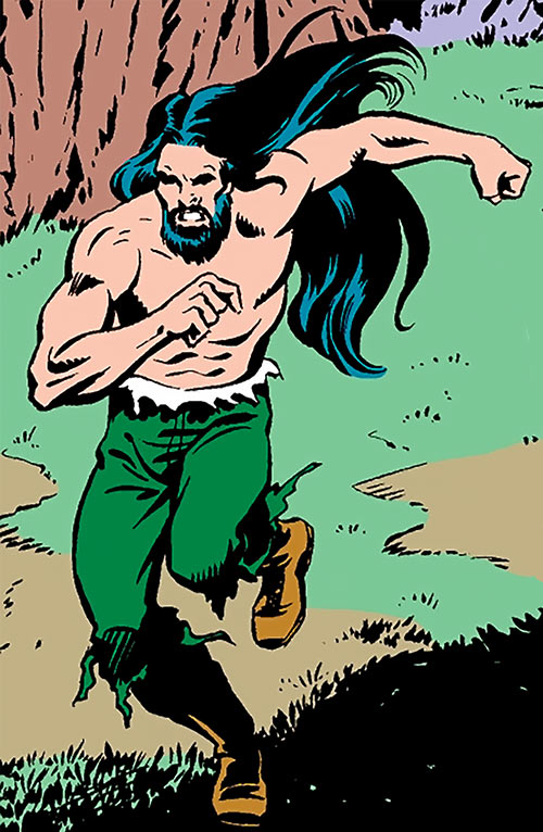 Brother Nature (Captain America character) (Marvel Comics) running