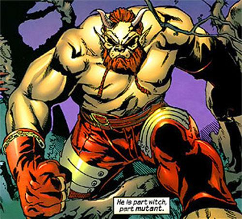 Brutacus (Marvel Comics) (Salem 7) modern appearance