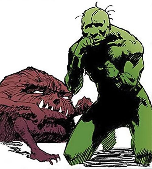 Brute and Glob (Sandman characters) (DC Comics)