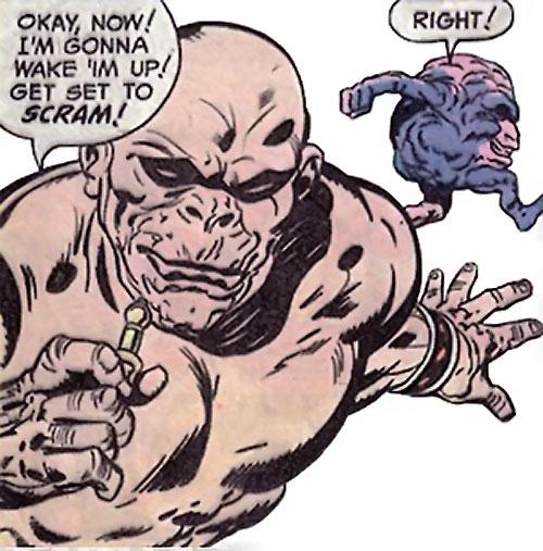 Brute and Glob (Sandman characters) (DC Comics) by Kirby