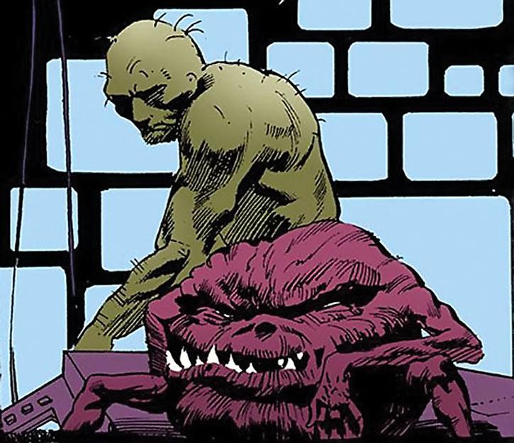 Brute and Globe depressed by the real Sandman's return