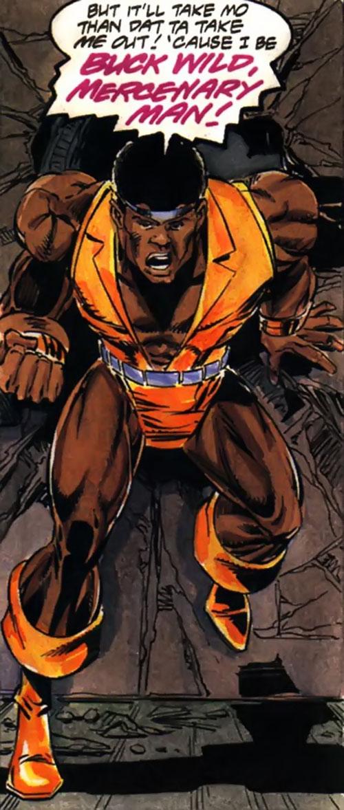 Buck Wild (Milestone Comics) yelling