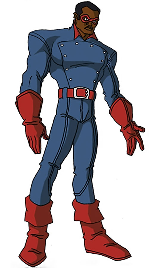 Bucky (Lemar Hoskins) (Captain America character) (Marvel Comics) by RonnieThunderbolts 2/2