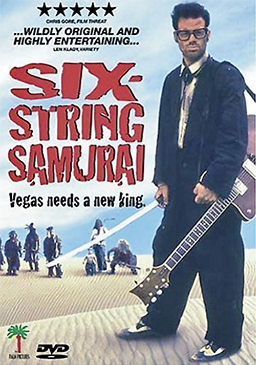 Buddy (Jeffrey Falcon in 6 string samurai) movie poster