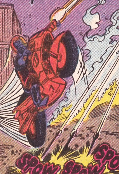 Bullet Biker (Marvel Comics) vs. Hawkeye