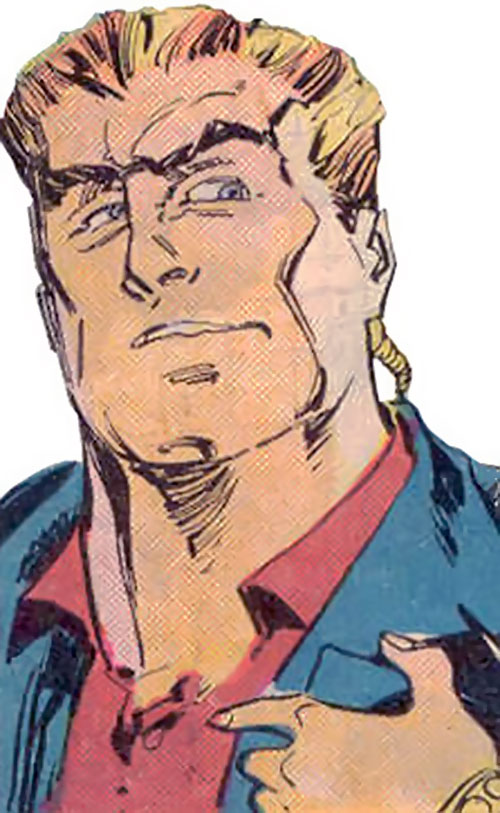 Bushwacker (Marvel Comics) face closeup