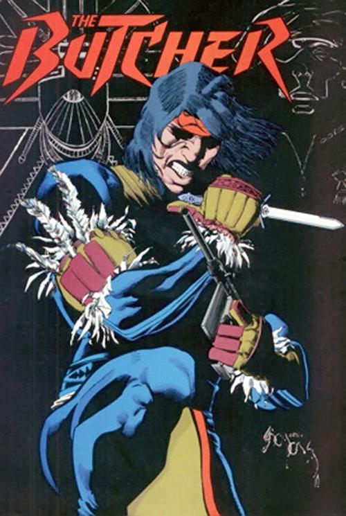 John Butcher (DC Comics) Who's Who illustration
