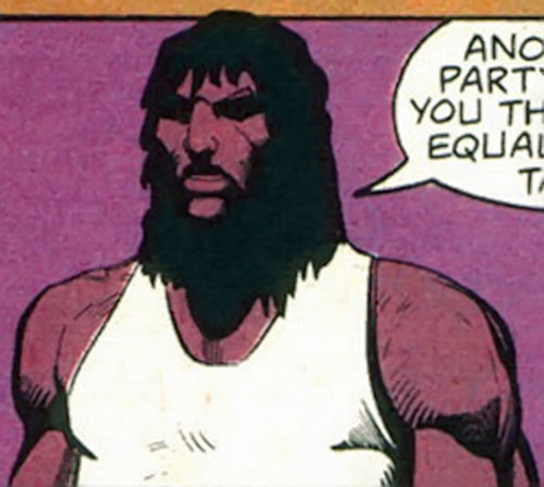 John Butcher (DC Comics) in a wifebeater and in the shadows