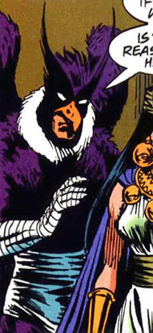 Cachiru of Super-Malon (DC Comics) and Salamanca
