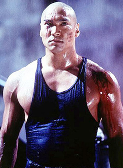 Jason Scott Lee as Caine 607 in Soldier
