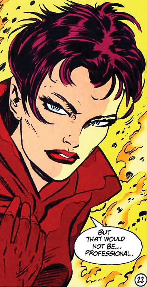 Camorouge (Green Arrow character) (DC Comics) face closeup