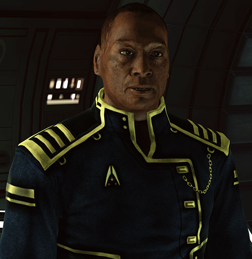 Captain Anderson (Mass Effect 1) talking