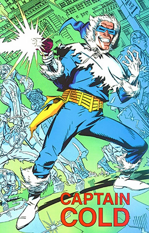 Captain Cold of Flash's Rogues (DC Comics) 1993 Who's Who