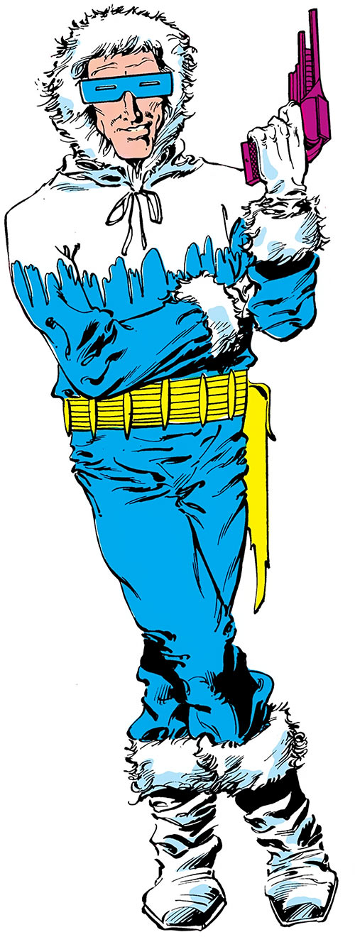 Captain Cold of Flash's Rogues (DC Comics)