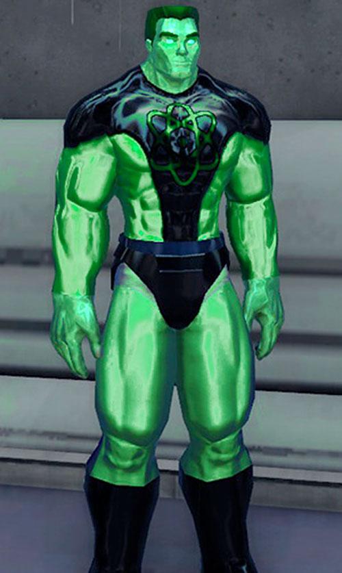 Captain Gamma (DC Heroes RPG) 1/2
