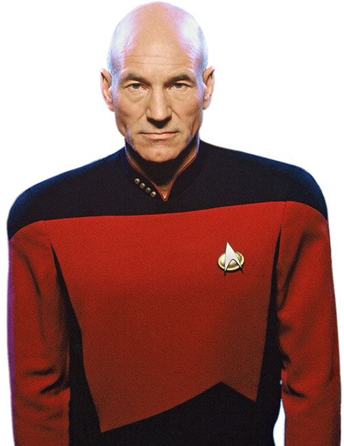 Captain Picard (Patrick Stewart)