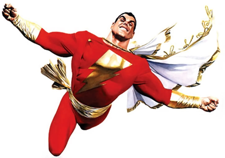 Captain Marvel (Billy Batson) by Alex Ross