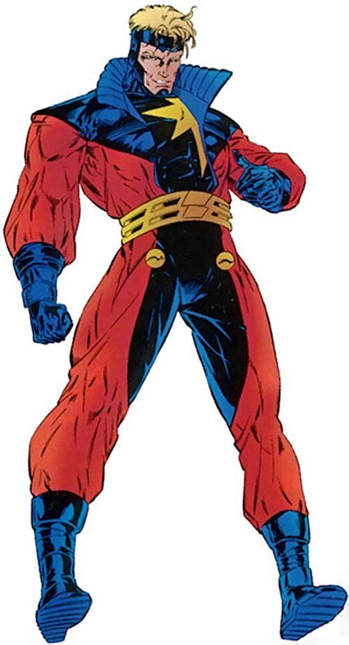 Captain Marvel (Genis Vell) (Marvel Comics) as Legacy