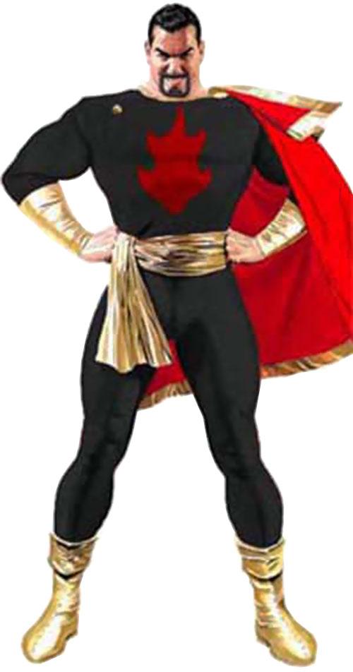 Captain Terror (Evil Captain Marvel) photomanipulation