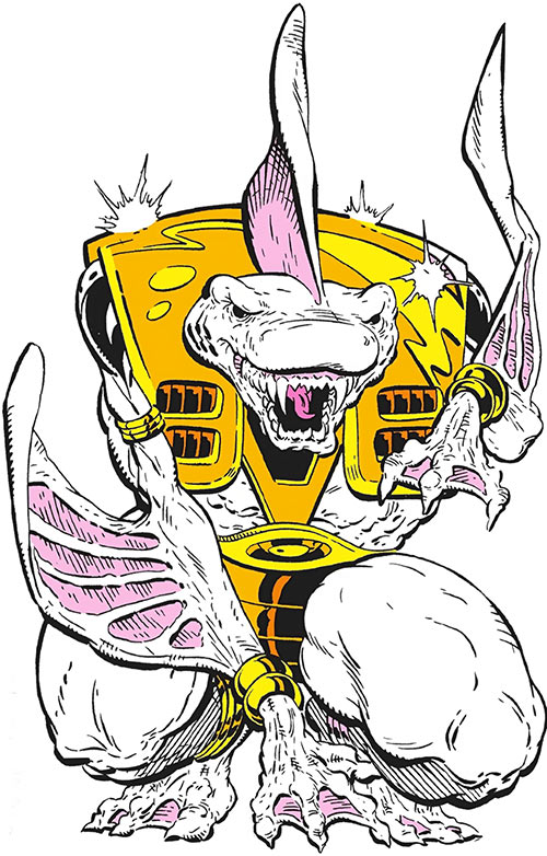 Carcharo (Infinity, Inc. enemy) (DC Comics) from the Who's Who