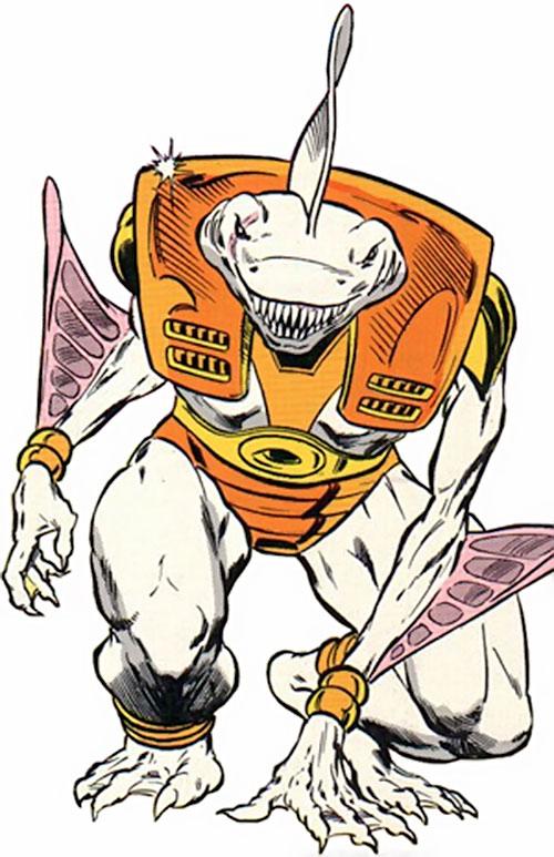 Carcharo (Infinity, Inc. enemy) (DC Comics)
