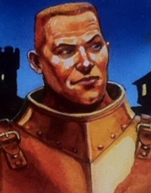 Captain Carrot Ironfoundersson (Pratchett's Discworld watch) portrait