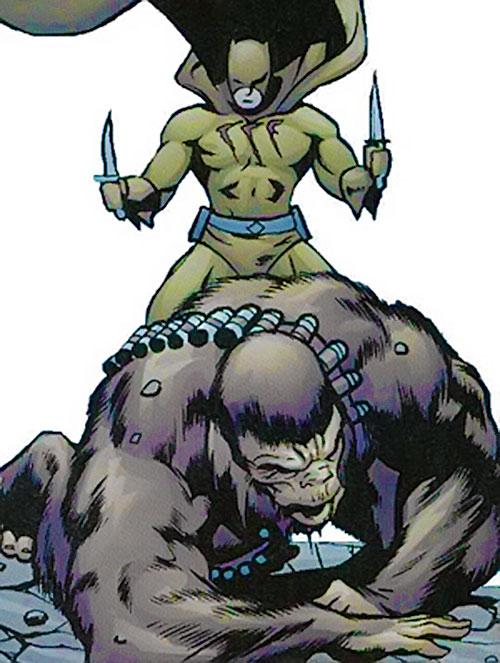 Catman of the Secret 6 (DC Comics) vs. Monsieur Mallah
