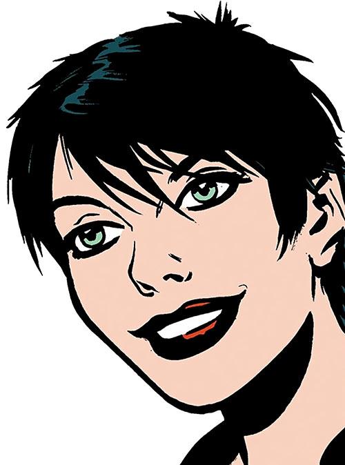 Catwoman (DC Comics) by Darwyn Cooke, face closeup