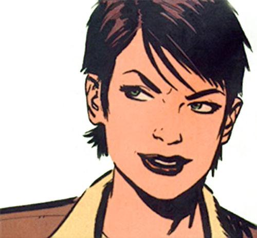 Catwoman (DC Comics) smiling