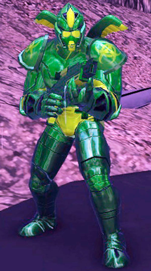Caustic Green Menace (DC Heroes RPG)