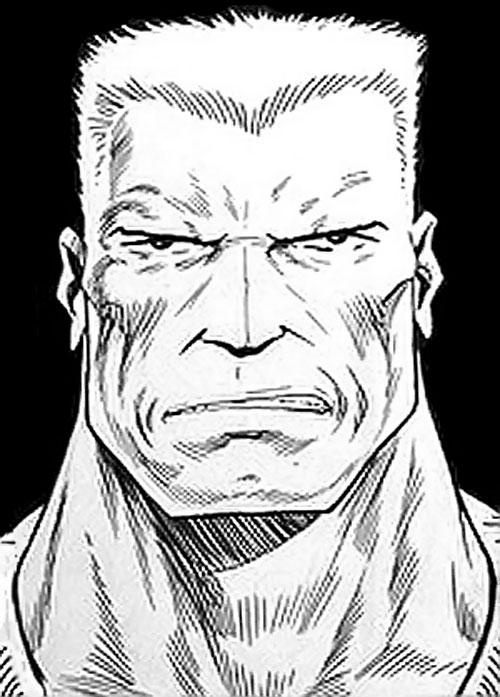 Chainsaw Warrior face closeup