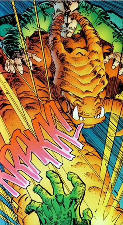 Chaos and Control (Savage Dragon comics) punching