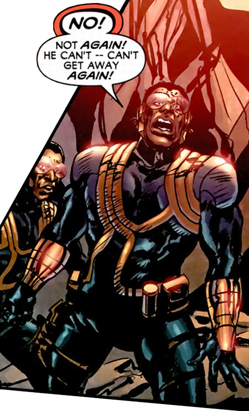 Royal and Charles Williams (Astro City Dark Age) (Vengeance Brothers) yelling