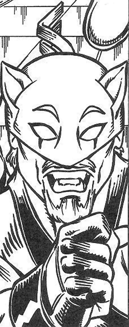 Cheshire Cat (Champions RPG) face closeup