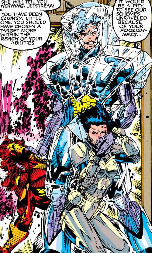 Chronomancer (Fitzroy) (Marvel Comics) by W. Portaccio